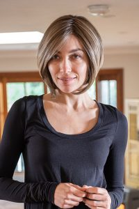 Short and tailored ladies bob style wig