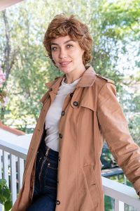 Natural Loose Curl Synthetic Wig